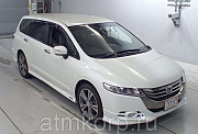 Минивэн 4WD 7 мест Honda Odyssey кузов RB4 рестайлинг Absolute гв 2012 пробег 169 т.км белый Москва