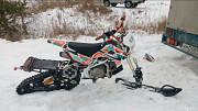 Сноубайк Гусеничный комплект для мотоцикла питбайк Monotrack 22-28 Самара