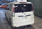 Минивэн 8 мест NISSAN SERENA кузов FC26 пробег 144 тыс км цвет белый жемчуг Москва