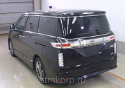Минивэн NISSAN ELGRAND полный привод 4 wd 7 мест цвет черный Фантом Москва