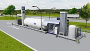 Модульные заправочные станции СПГ-КПГ (LNG-CNG) Краснознаменск