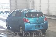 Хэтчбек MITSUBISHI MIRAGE гв 2012 пробег 28 т.км цвет синий Москва