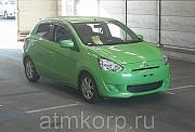 Хэтчбек MITSUBISHI MIRAGE гв 2013 пробег 96 т.км цвет зеленый Москва