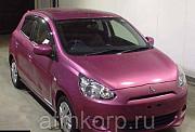 Хэтчбек MITSUBISHI MIRAGE гв 2013 пробег 47 т.км цвет розовый Москва