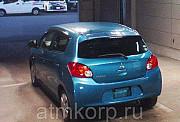Хэтчбек MITSUBISHI MIRAGE гв 2013 пробег 146 т.км цвет синий Москва