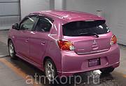 Хэтчбек MITSUBISHI MIRAGE гв 2013 пробег 100 т.км цвет розовый Москва