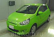 Хэтчбек MITSUBISHI MIRAGE гв 2012 пробег 33 т.км цвет зеленый Москва