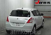 Хэтчбек 3 поколение рестайлинг SUZUKI SWIFT кузов ZC72S гв 2013 пробег 101 тыс км цвет снег белый же Москва