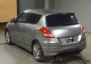 Хэтчбек 3 поколение рестайлинг SUZUKI SWIFT кузов ZC72S гв 2013 пробег 45 тыс км цвет серебристый Москва