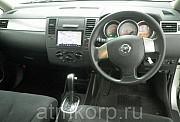 Хэтчбек NISSAN TIIDA кузов C11 пробег 69 тыс км цвет серебристый Москва
