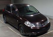 Хэтчбек NISSAN TIIDA кузов C11 пробег 261 тыс км цвет горький шоколад Москва