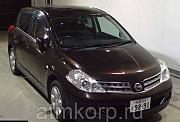 Хэтчбек NISSAN TIIDA кузов C11 пробег 178 тыс км цвет коричневый Москва