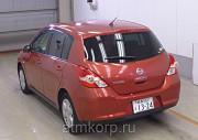 Хэтчбек NISSAN TIIDA кузов C11 пробег 84 тыс км цвет красный Москва