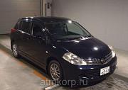 Хэтчбек NISSAN TIIDA кузов C11 пробег 69 тыс км цвет черный Москва