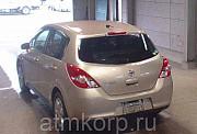 Хэтчбек NISSAN TIIDA кузов C11 пробег 115 тыс км цвет бежевый Москва