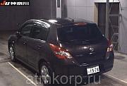 Хэтчбек NISSAN TIIDA кузов C11 пробег 43 тыс км цвет чайный Москва
