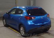 Хэтчбек 4 поколение MAZDA DEMIO кузов DJ5AS год выпуска2015 пробег 78 тыс км цвет динамический сини Москва