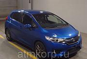 Хэтчбек HONDA FIT кузов GK5 модификация 15X L Package год выпуска 2014 пробег 123 тыс км цвет синий Москва