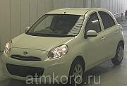 Хэтчбек NISSAN MARCHполный привод 4 wd год выпуска 2012 Москва