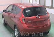 Хэтчбек NISSAN NOTE кузов NE12 подключаемый полный привод X-four 4 wd пробег 88 тыс км цвет винный Москва