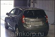 Хэтчбек NISSAN NOTE кузов NE12 X-four 4 wdпробег 101 тыс км цвет серый Москва