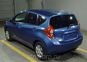 Хэтчбек NISSAN NOTE кузов NE12 подключаемый полный привод пробег 92 тыс км цвет синий Москва