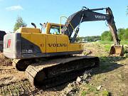 Гусеничный экскаватор Volvo 210, болотник, гарантия Санкт-Петербург