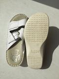 Шлепки тапки новые ledi сербия 36 35 размер белые кожа ортопедия женские медицинские кожаные ортопед Москва