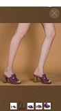 Сабо loriblu италия 39 размер кожа сиреневые фиолетовые каблук 8 см босоножки обувь женская лето Москва