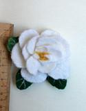 Брошь. Роза белая Чебоксары