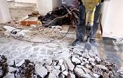 Демонтируем бетонную стяжку Рамонь и сносим стяжку цементную в Рамони Воронежской области Рамонь