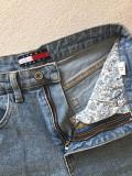 Шорты женские новые tommy hilfiger 27-26 размер 44-46 джинсовые голубые посадка высокая короткие Москва