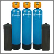 Фильтры очистки воды из скважин, колодцев и водопровода для частных домов и предприятий. Новосибирск