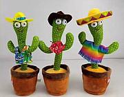 Танцующий кактус-музыкальная говорящая игрушка. Замечательный подарок ребенку ! Волгоград