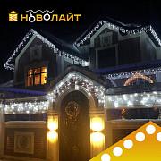 Освещение фасадов светодиодными гирляндами в Ростове-на-Дону и области Ростов-на-Дону