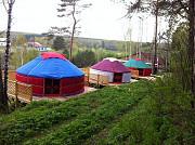 Юрта вместо палатки Яровое